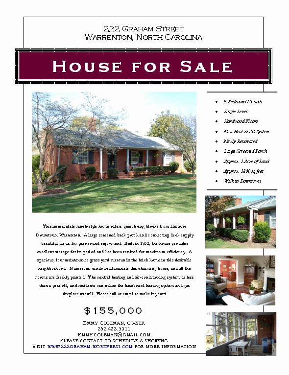 House for Sale Template Luxury Graphic Design