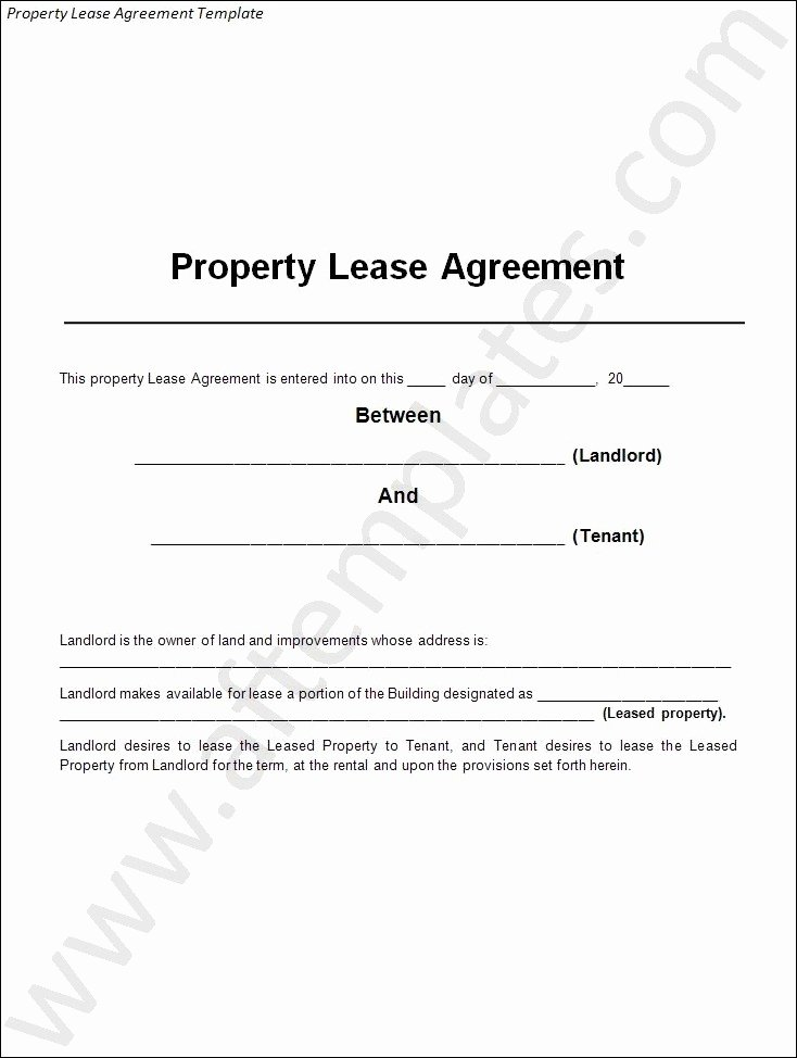 House Lease Agreement Template Awesome 3 Best Lease Agreement Templates