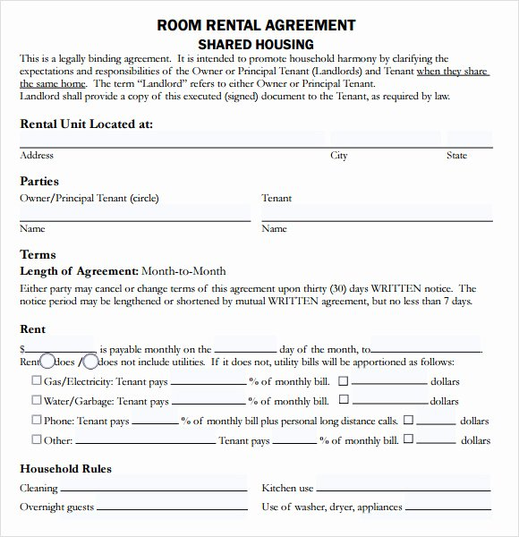 House Lease Agreement Template Beautiful 10 Sample House Lease Agreements