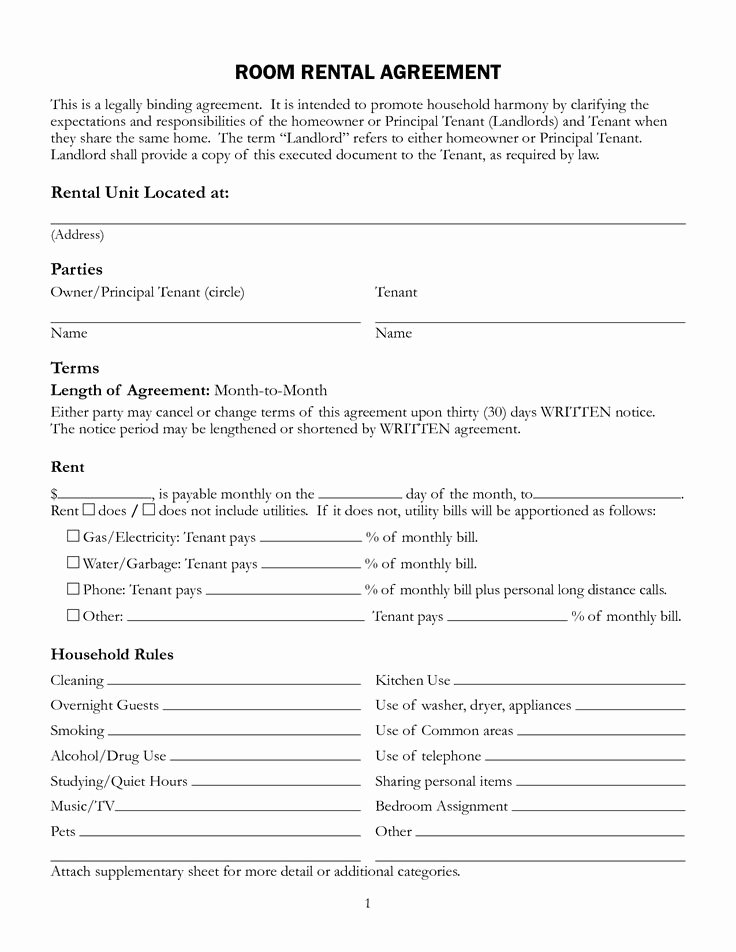 House Lease Agreement Template Best Of 11 Best Rental Agreements Images On Pinterest