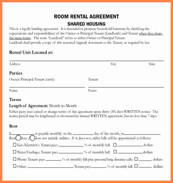 House Lease Agreement Template Best Of 5 Sample Lease Agreement for Renting A House