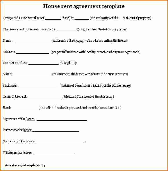 House Lease Agreement Template Elegant 7 Examples Rental Agreements