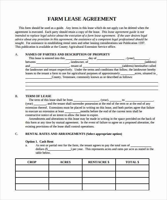 House Lease Agreement Template Lovely 9 Property Lease Agreement Templates to Download for Free
