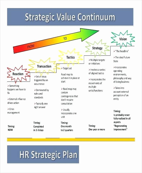 Hr Strategic Plan Template Lovely 5 Year Strategic Plan Example Template Three Hr