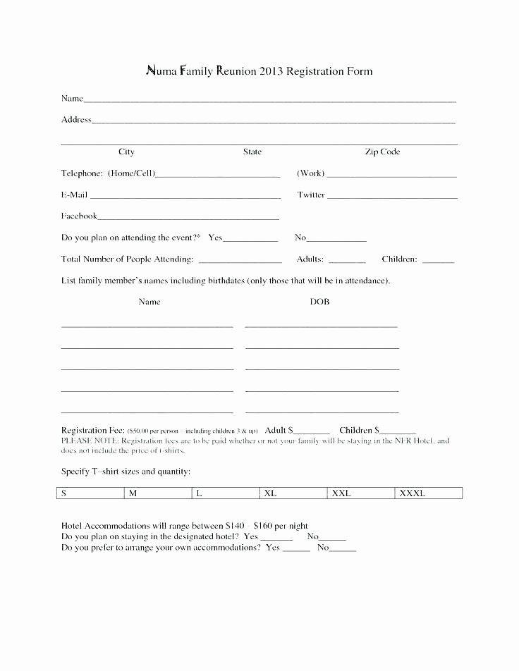 Html Registration form Template Lovely Online Registration form Template