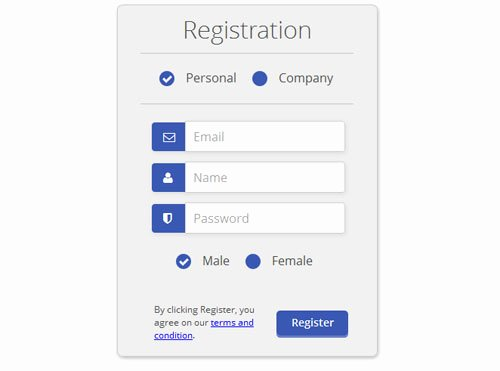 Html Registration form Template Luxury 60 Beautiful Css Sign Up & Registration form Templates