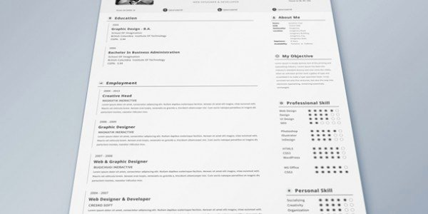 Html5 Resume Template Free Fresh 41 HTML5 Resume Templates Free Samples Examples format