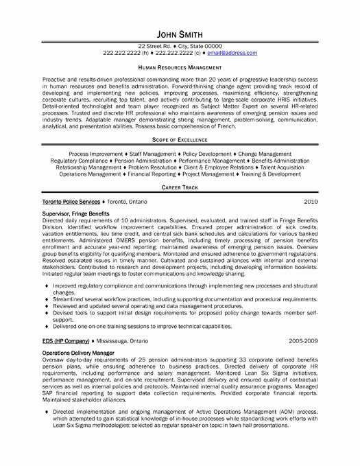 Human Resource Manager Resume Template Lovely 15 Best Images About Human Resources Hr Resume Templates