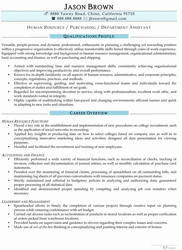 Human Resource Manager Resume Template Unique Human Resources Resume Examples Resume Professional Writers
