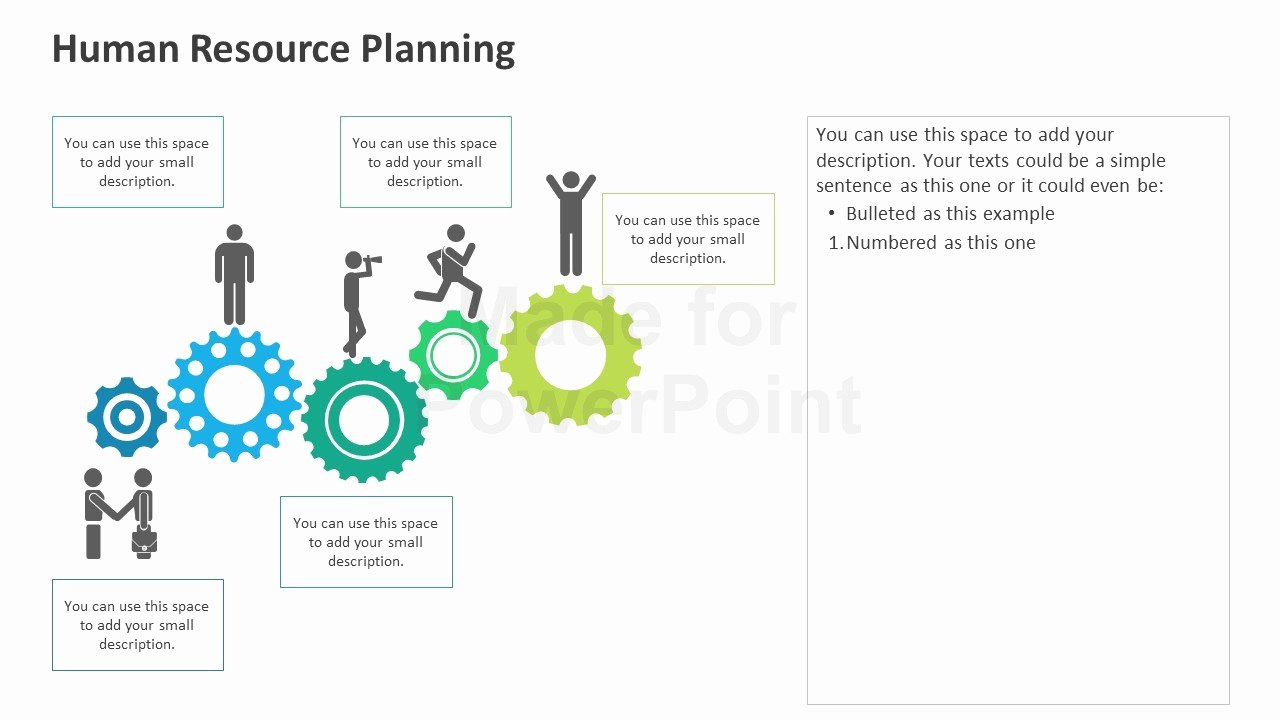Human Resource Plan Template Luxury Human Resource Planning Framework Editable Powerpoint
