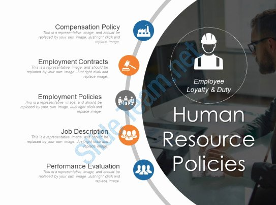 Human Resource Policy Template Awesome Human Resource Policies Sample Ppt Presentation