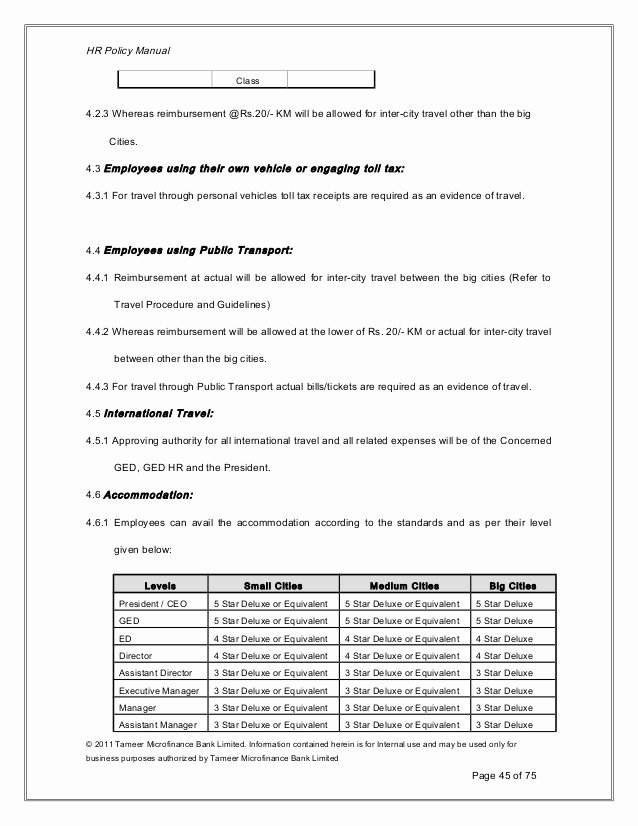 Human Resource Policy Template Beautiful Human Resource Manual Template New Human Resource Policy