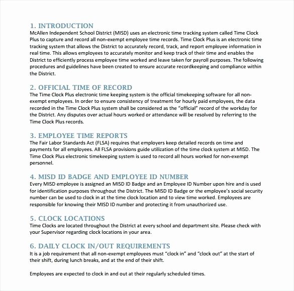Human Resource Policy Template Fresh Insurance Procedures Manual Template How to Leave