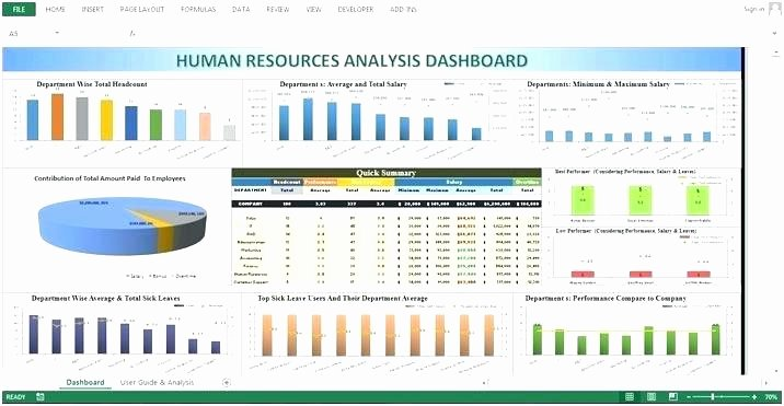 Human Resources Dashboard Excel Template Inspirational Human Resources Dashboard Template Download Hr Free
