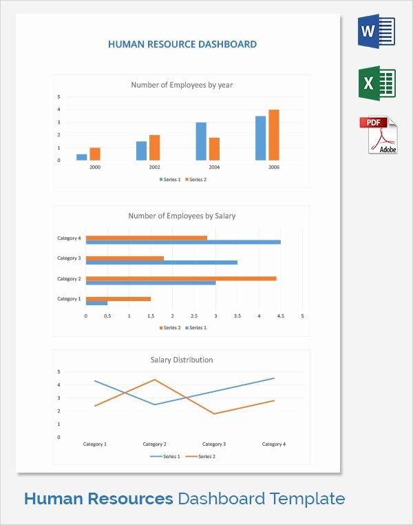 Human Resources Dashboard Template Beautiful 9 Sample Hr Dashboards