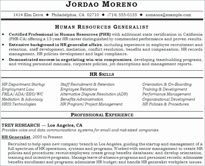 Human Resources Policy Template New Human Resources Policy and Procedures Template Resume