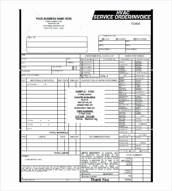 Hvac Maintenance Contract Template Unique Hvac Proposal Proposal Plan Sample Hvac Bid Proposal