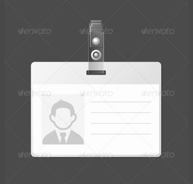 Id Badge Template Photoshop Elegant 16 Id Card Psd Templates & Designs