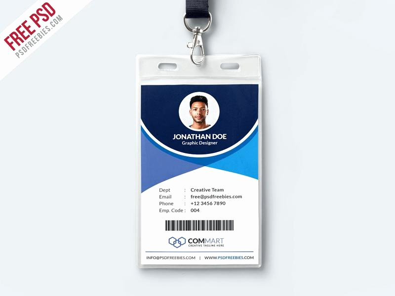 Id Badge Template Photoshop Inspirational Blank Id Badge Template Employee Shop – Arabnormafo