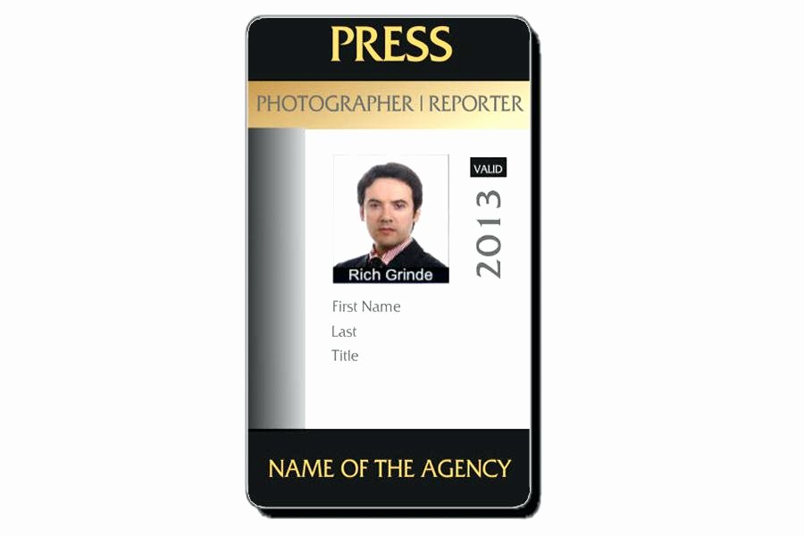 Id Badge Template Photoshop Inspirational Template Id Card – Puntogov