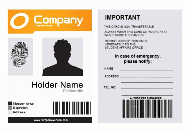 Id Badge Template Photoshop Lovely Pany Id Template Psd Xonekdesign