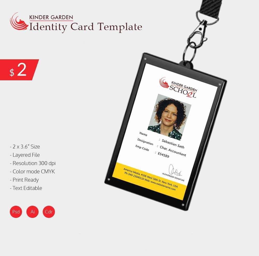 Id Badge Template Photoshop New Fresh Employee Badge Template Shop