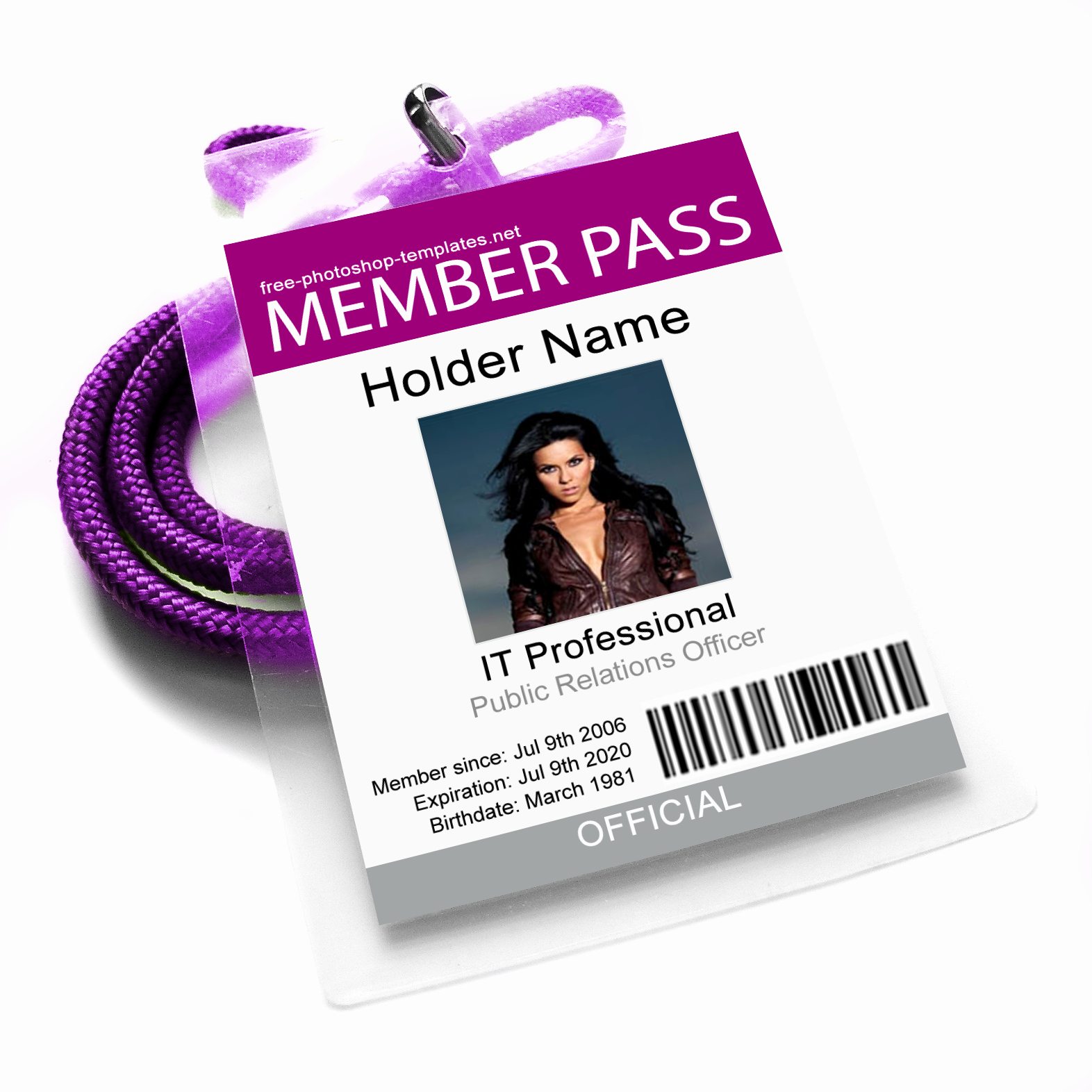 Id Badge Template Photoshop Unique Id Card 3 by Leenidesigns On Deviantart