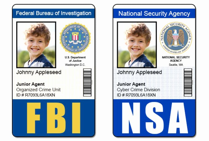Id Badge Template Photoshop Unique Send 1 Fbi Cia Nsa or Dea Id Badge Photoshop Template