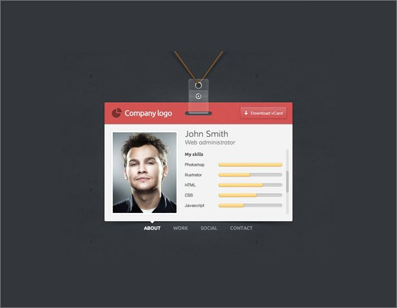 Id Card Template Photoshop Beautiful Sample Id Badge Template 10 Documents In Pdf Psd