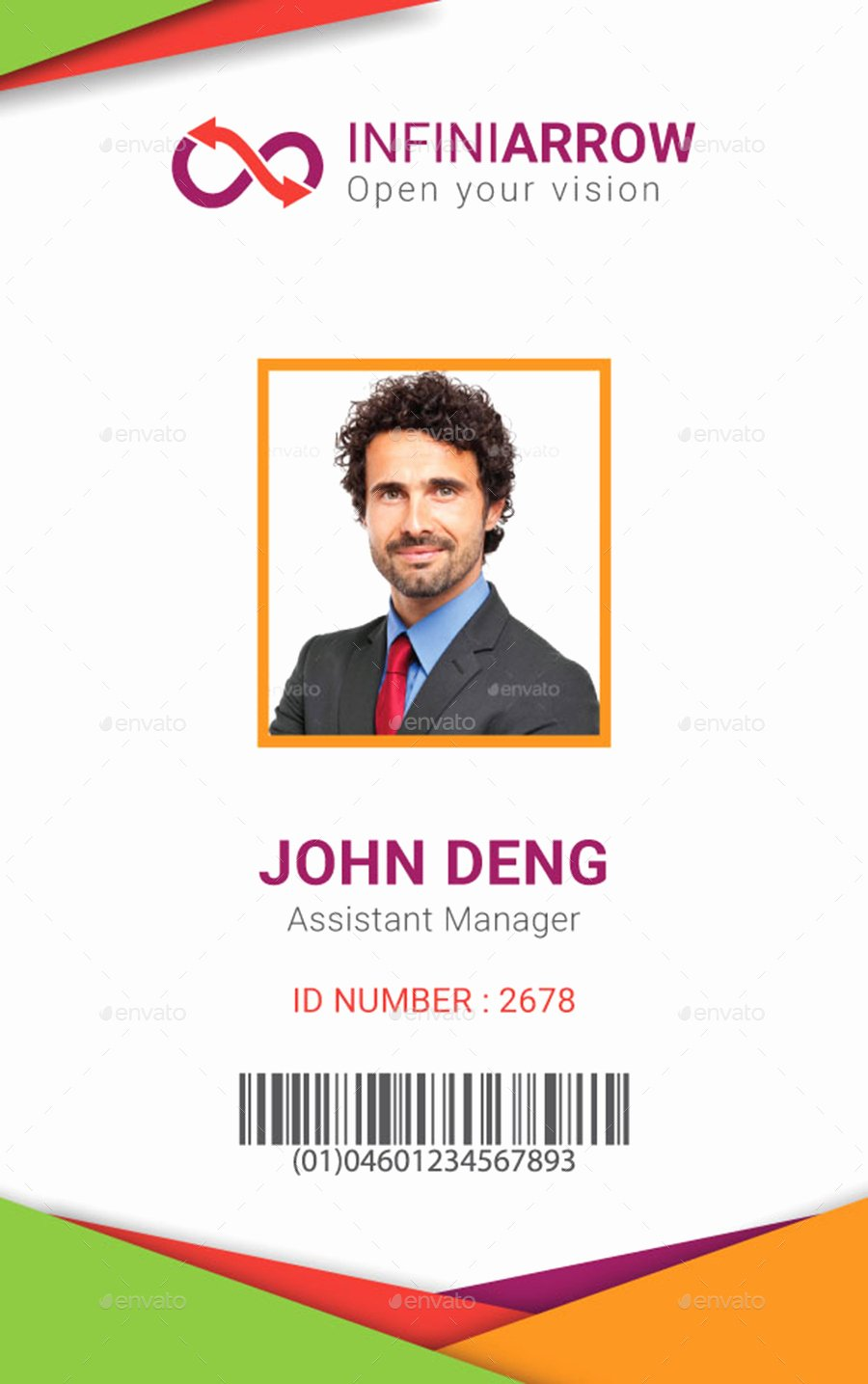 Id Card Template Photoshop Inspirational Multipurpose Business Id Card Template by Dotnpix