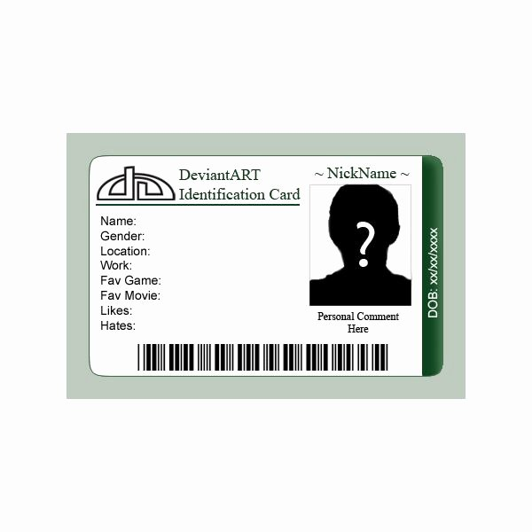 Id Card Template Photoshop Unique 7 Best Of Id Badges Templates Printable Printable