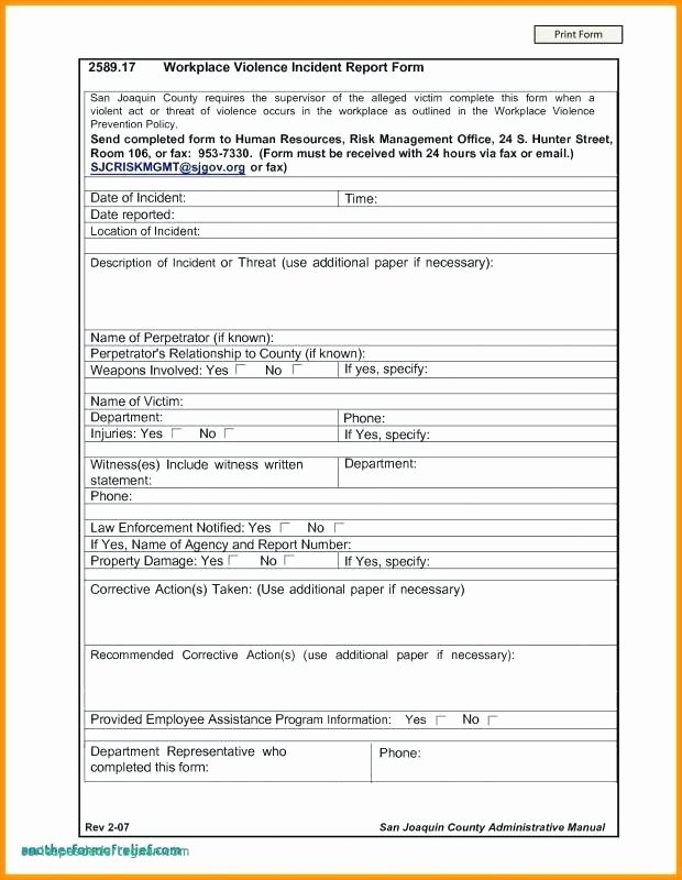 Incident Investigation Report Template New Hr Investigation Template Workplace Investigation Report