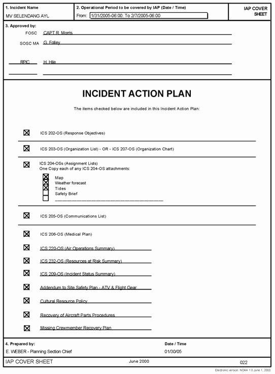 Incident Response Report Template Inspirational Incident Response Plan Template