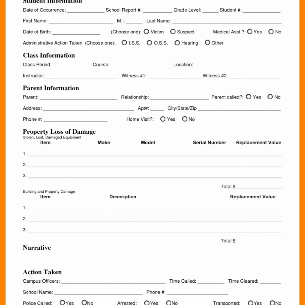 Incident Response Report Template New Incident Response Template Importance Structured