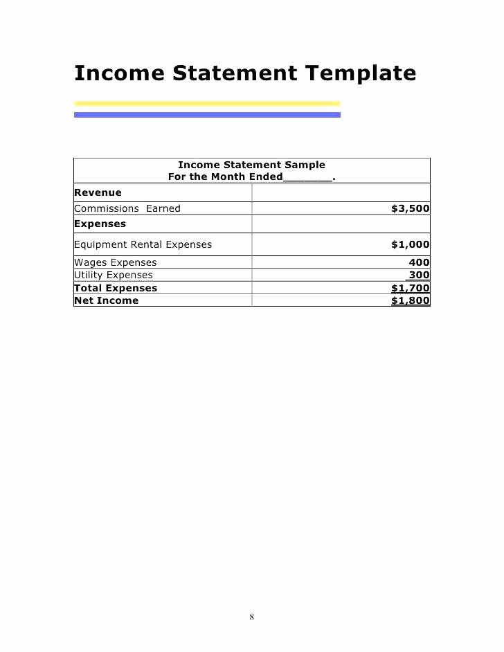 Income and Expense Statement Template New Download Profit Loss Statement In E Vertical Analysis