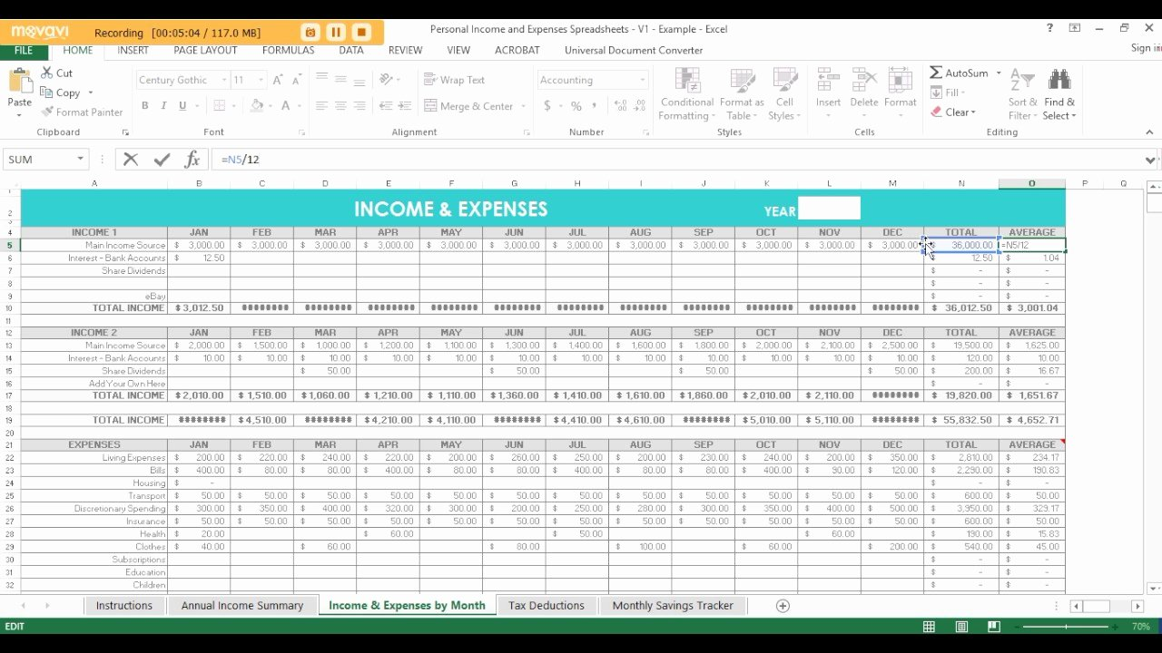 Income and Expense Template Best Of In E and Expenses Spreadsheet Small Business withlate