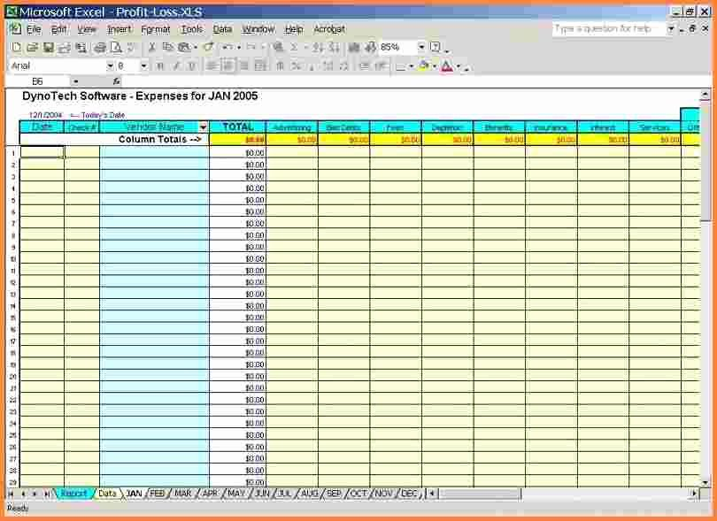 Income and Expense Template Inspirational 5 Business Expense and In E Spreadsheet