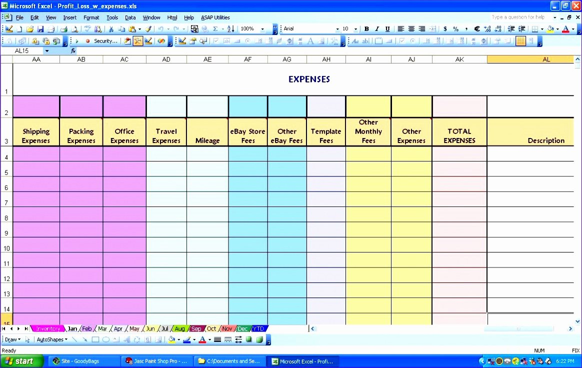 Income and Expense Worksheet Template Beautiful 12 In E and Expenditure Template Excel Exceltemplates