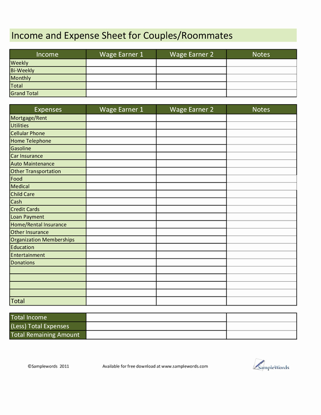 Income and Expense Worksheet Template Inspirational 17 Best 30 Day Bud Worksheet Blank Monthly