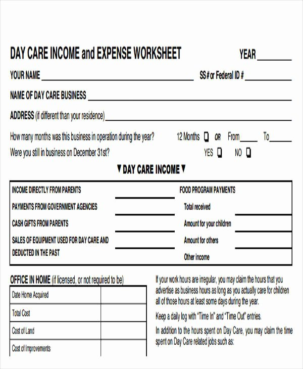 Income Expense Report Template Elegant 29 Expense Report Template In Pdf