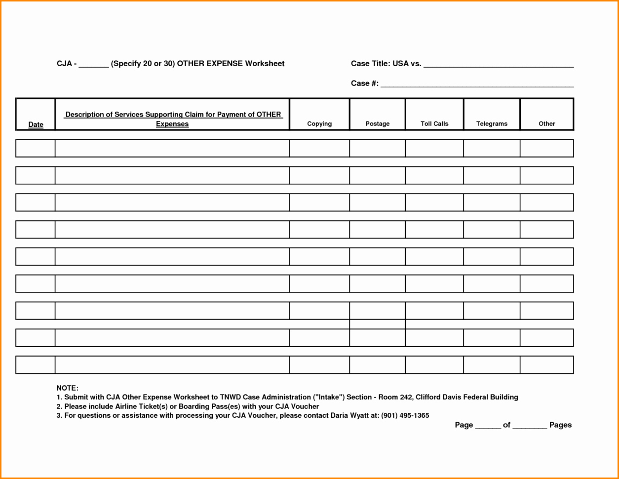 Income Expense Report Template Inspirational Expense Worksheet Template Worksheets Ratchasima