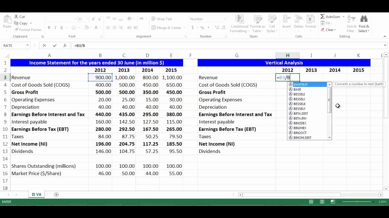 Income Statement Excel Template Fresh In E Statement Template Excel