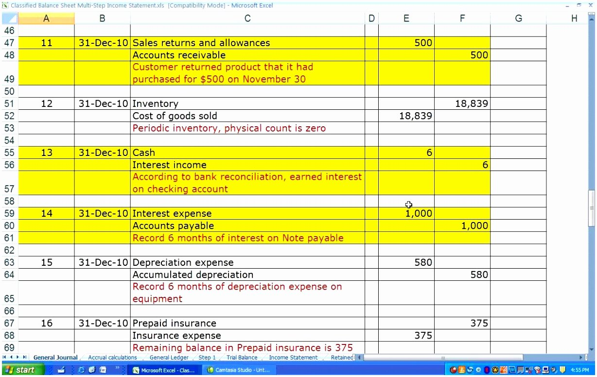 Income Statement Excel Template Lovely 10 Multi Step In E Statement Template Excel Iilaa