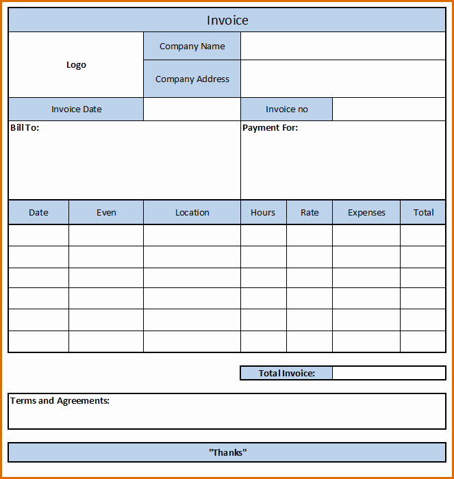 Independent Consultant Invoice Template Inspirational 10 Independent Contractor Invoice Template