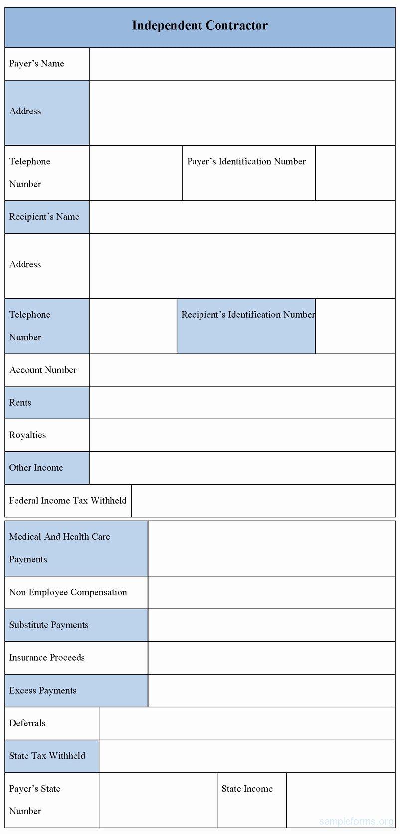 Independent Consultant Invoice Template Luxury Sample Independent Contractor Invoice Invoice Template Ideas