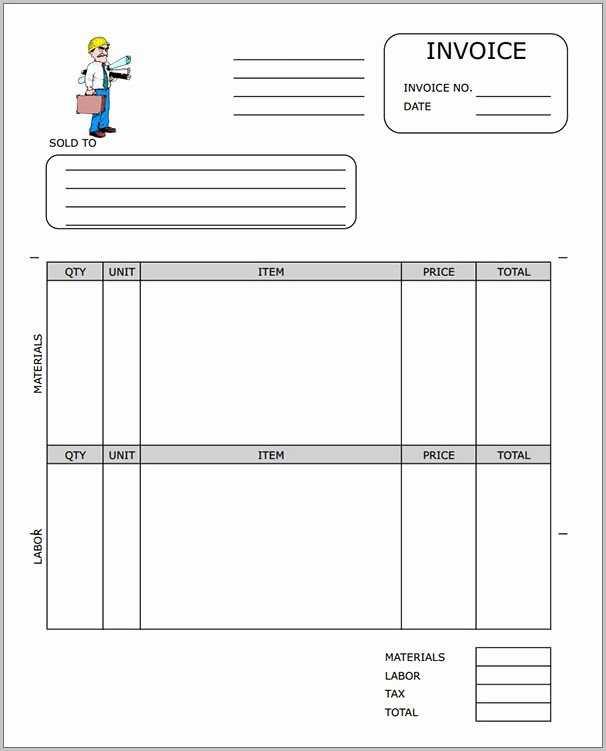 Independent Contractor Billing Template Best Of Independent Contractor Billing Invoice Template Template