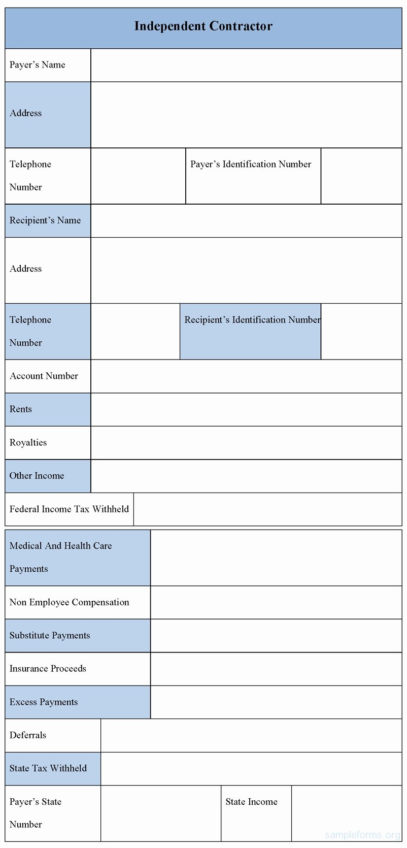 Independent Contractor Billing Template Inspirational Sample Independent Contractor Invoice Invoice Template Ideas