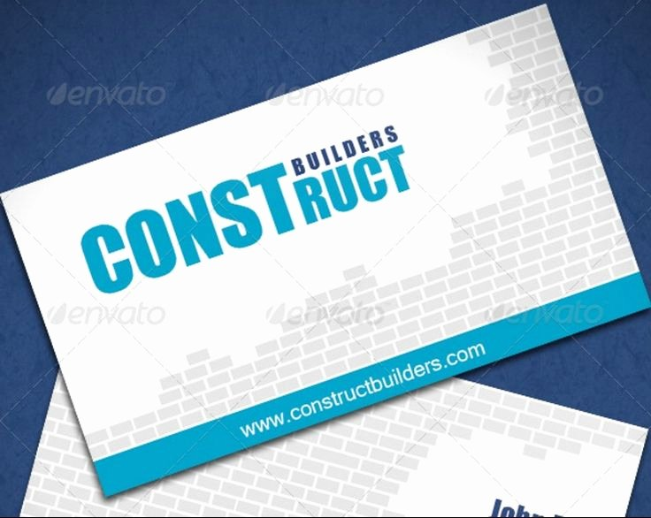 Indesign Business Card Template Free Beautiful 30 Best 25 Construction Business Card Template Psd and