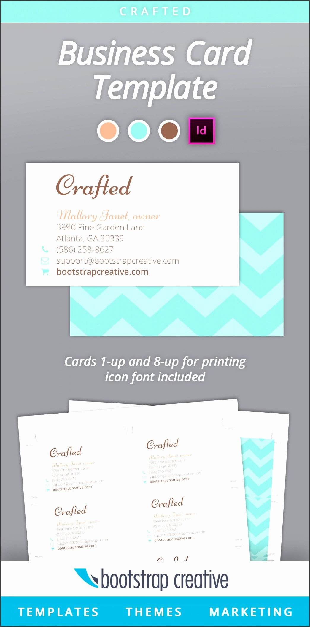 Indesign Business Card Template Free Best Of 5 Adobe Indesign Business Card Template Sampletemplatess