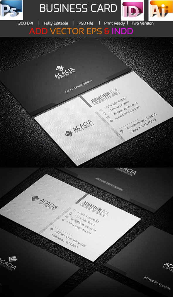 Indesign Business Card Template Free Inspirational 15 Premium Business Card Templates In Shop